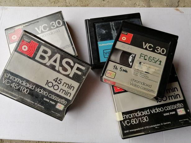 Kaseta VCR, BASF kolekcjonerska, PRL video lata 70te