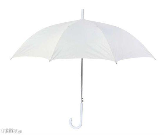 parasol ŚLUBNY biały PARASOLKA ŚLUB wesele SESJA zdjęciowa