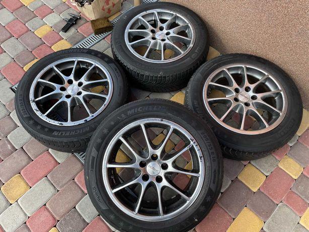 Тітанові діски Dezent 5*100 R16 VW Golf 4-Skoda rapid-faBia-Audi 3
