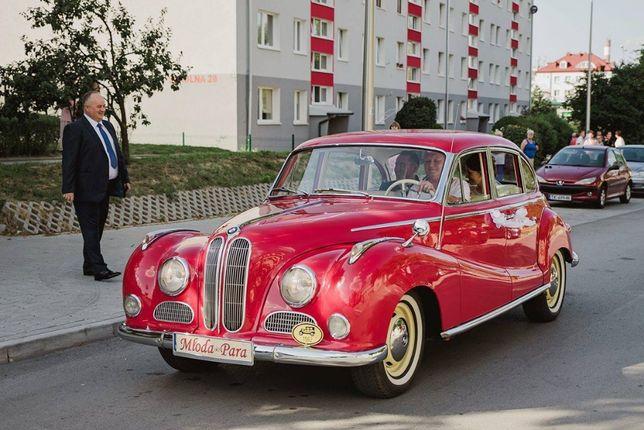 Mercedes BMW Warszawa M20 Hudson Jaguar! Kolekcja Zabytkowych aut ślub
