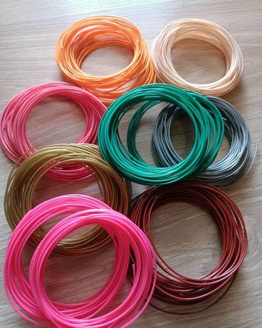 Пластикові стержні PLA для 3Dручки