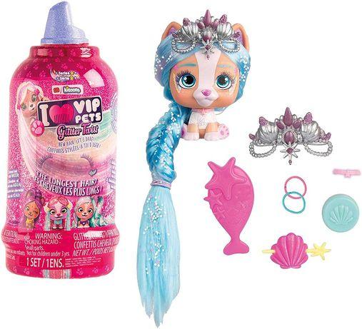 VIP Pets любимец  в бутылке серия 2 imc Glitter Twist