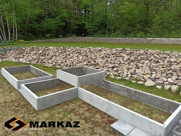 Rabata betonowa, inspekt warzywny