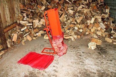 Rynna do workowania drewna np. kominkowego