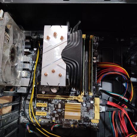 i5 4590 + Asus B85M-G + 16Gb
