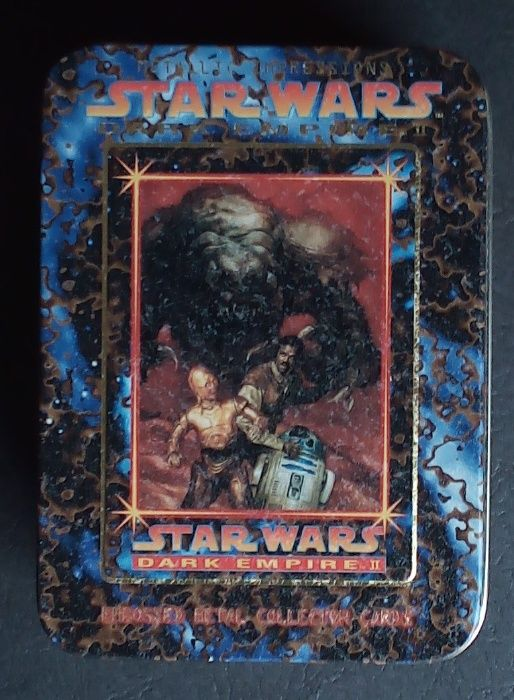 star wars dark empire II embosseb metal collector cartas Barreiro E Lavradio - imagem 1