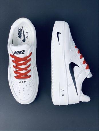 Кожаные Nike Air Force 1 Хит 2021 Все размеры 35-46! Кроссовки Найк