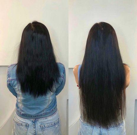 АКЦИЯ наращивание волос 850 гривен