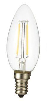 4 Lampadas LED de Filamento 2W