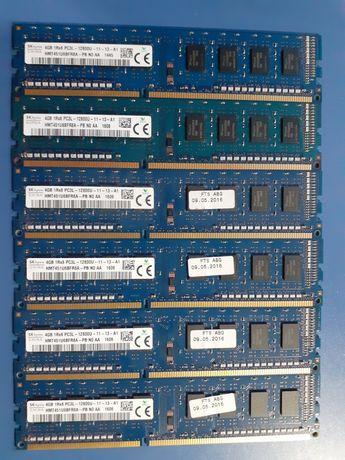 Оперативна пам'ять DDR3 6шт-4gb