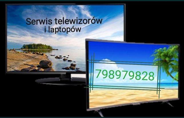 Serwis telewizorów, naprawa podświetlenia, naprawa elektroniki