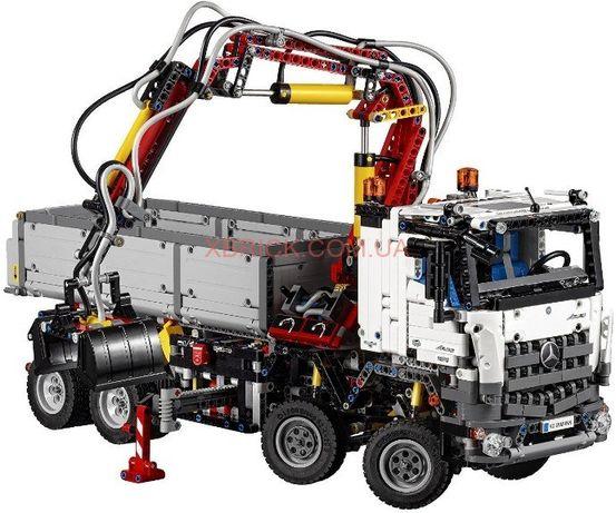 Lego technic детали (лего техник) Пневмосистема MB AROCS в сборе