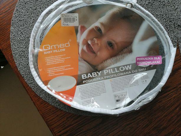 Poduszka profilowana ortopedyczna Qmed dla niemowlaka