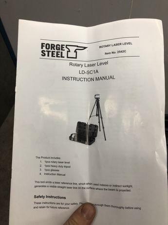 Laser rotacyjny niwelator obrotowy steel forge