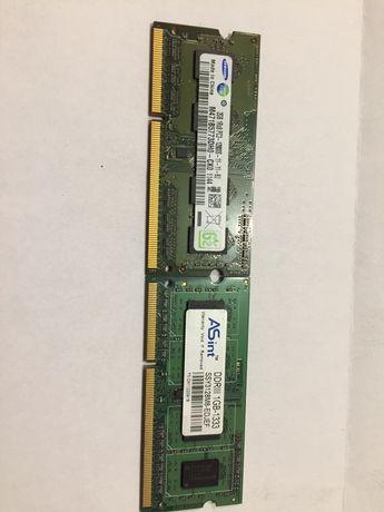 Оперативка DDR 3 1gb 2gb