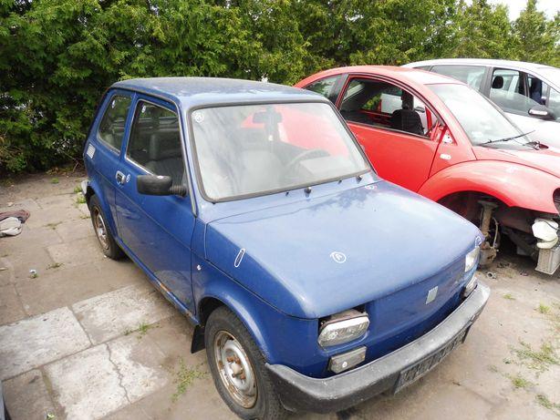 Maluch Fiat 126P Maska Zderzak Drzwi Wnętrze Fotel Silnik Skrzynia