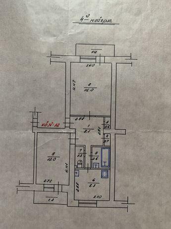 Квартира 2-кімнатна в центрі міста з виглядом на площу
