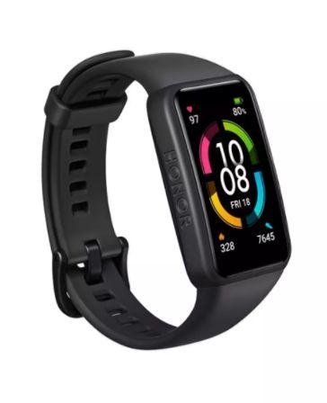 Оригинальный Смарт-браслет Huawei Honor Band 6 Черные и розовые