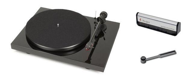 Pro-Ject DEBUT CARBON DC czarny gramofon + akcesoria super promocja