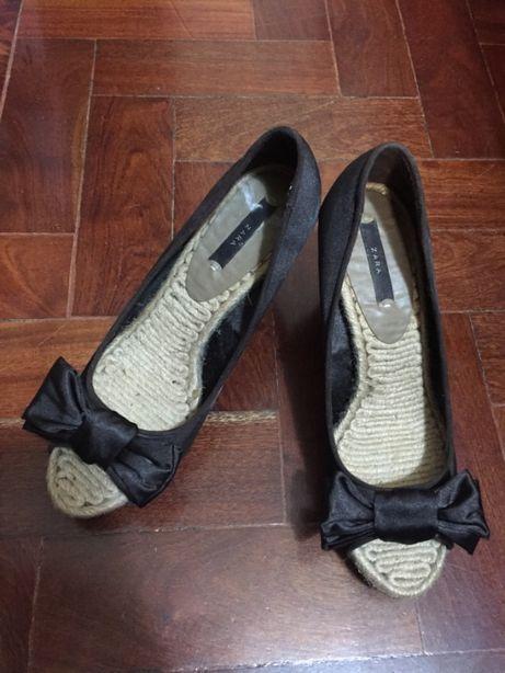 Sapatos cunha Verão