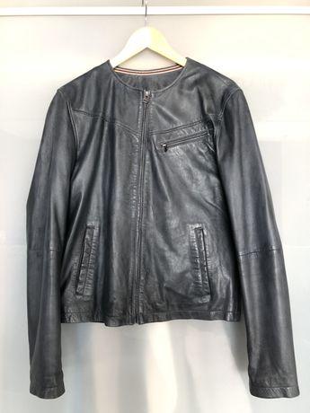 Кожаная куртка L