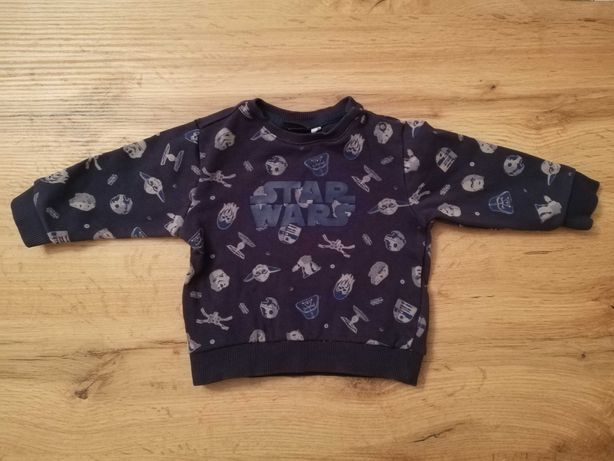 Bluza niemowlęca 68 star wars