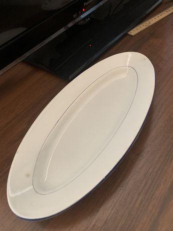 Фарфоровая немецка тарелка