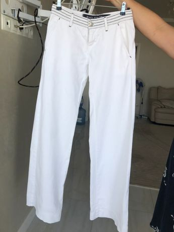 брюки белые Италия
