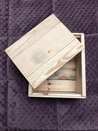 Деревянная подарочная коробка