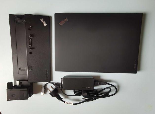 Laptop Lenovo ThinkPad T470 + stacja dokująca ThinkPad Pro Dock