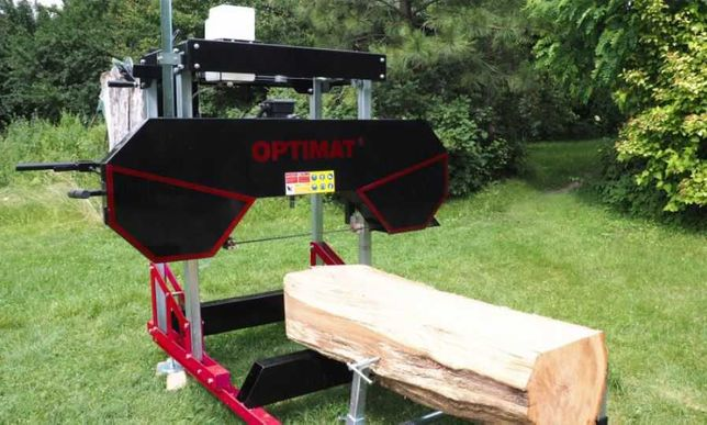Trak taśmowy elektryczny  szer. 790mm 7,5kW Optimat TMC790