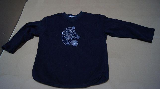 Bluzka polarowa dla dzieci wiek około 7 lat
