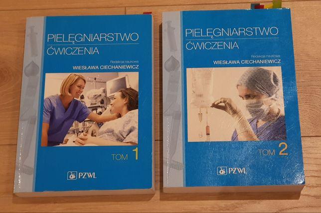 Pielęgniarstwo ćwiczenia Ciechanowicz tom 1 i 2