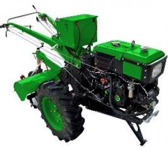 Мотоблок дизельный Forte МД- EGT81 E (зеленый)