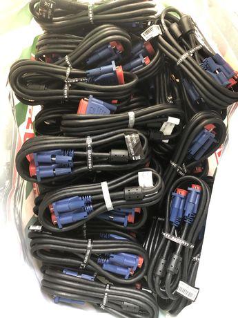 50шт VGA кабель samsung,нові,з комплекту від моніторів! .