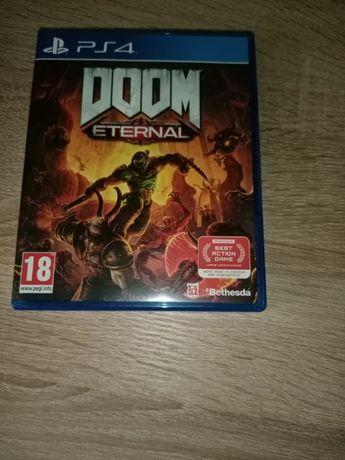 Gra Doom Eternal na PS4 - stan idealny