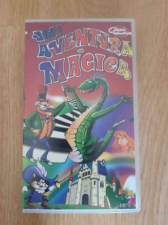 Filme Animação VHS Uma Aventura Mágica