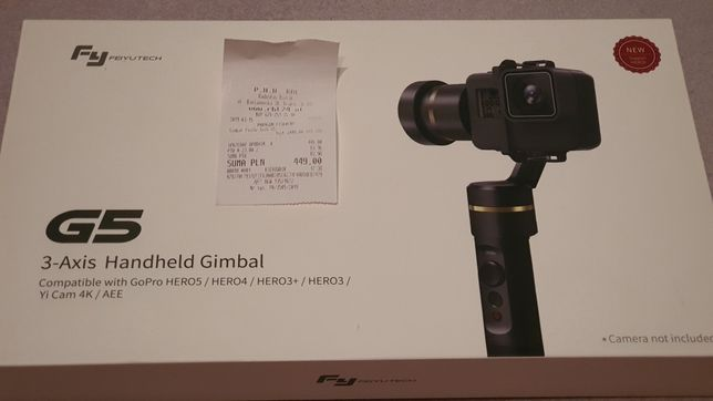 Gimbal Fy G5 3Axis do GoPro