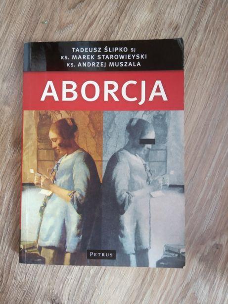 Duża książka o aborcji i inne o aborcji