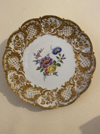 Раскошное блюдо, тарелка Meissen