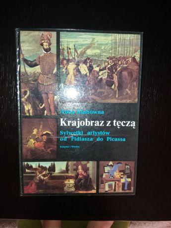 A.Klubówna-Krajobraz z tęczą-Sylwetki artystów od Fidiasza do Picassa