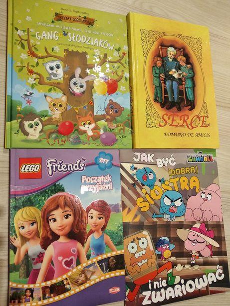Duże NOWE książki Gang Słodziaki, Niesamowity Świat Gumballa, Serce