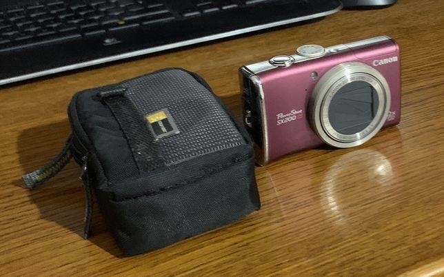 Aparat Canon PowerShot SX200 IS