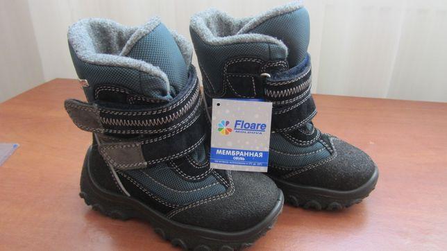 Продам зимние мембранные сапоги для мальчика Floare (Молдова р.2