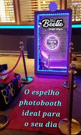 O espelho photobooth perfeito para o seu evento