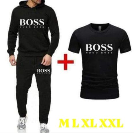 Komplet męski Hugo Boss M L XL XXL dres + koszulka