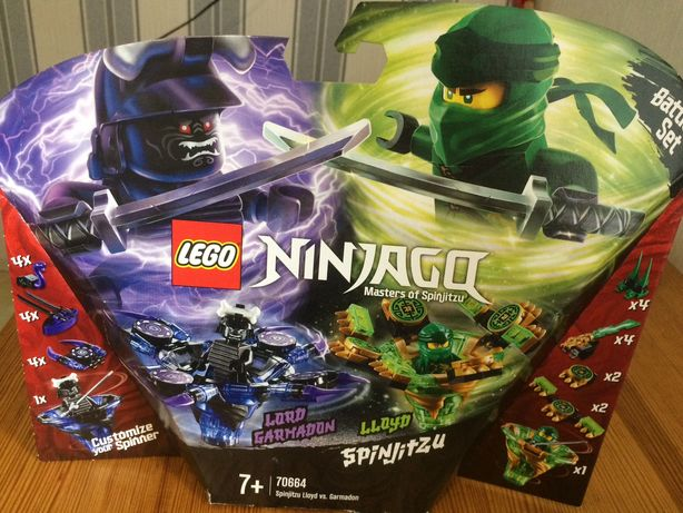 LEGO NINJAGO Спин-джитсу Ллойд против Гармадона (70664)