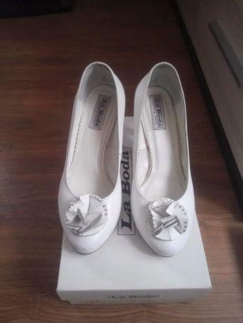 Buty ślubne r.37