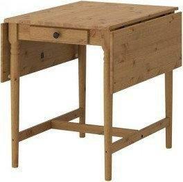 Okazja! Ikea INGATORP stół rozkładany opuszczany blat LEKSVIK i HEMNES