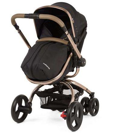 Carrinho de passeio de criança Marca Mothercare Cor: Preto e cinzento